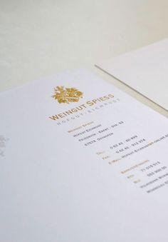 WEINGUT SPIESS - Für die Weinmacher im Haus Eichrodt mit dem Winzer Burkhard Spiess wurde das traditionelle Familienwappen digital aufbereitet und in Geschäftspapieren umgesetzt.