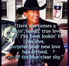 Blue clear sky- george strait