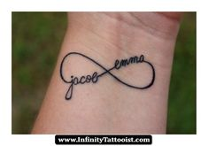 infinity tattoo with kids names 03 - http://infinitytattooist.com/infinity-tattoo-with-kids-names-03/