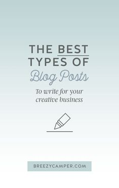 This guide to the best blog post to write will go through the top 5 converting posts that will engage your readers, solve their problems, and help convert your ideal client into paying customers. Read more!