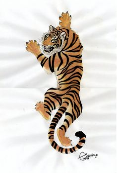 tiger tattoos | Commision: Tiger tattoo design by EmberWolfsArt on deviantART