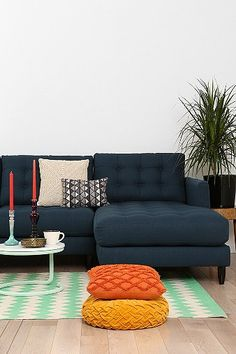 Colors / Jackson Right Sectional Sofa (Urban Outfitters)