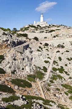 Faro de Formentor. Sierra de Tramuntana. Mallorca. Baleares by alberto cubillo, via 500px