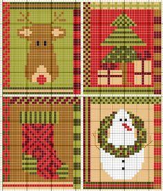 gazette94 christmas cross stitch designs