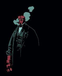 Fancy Hellboy