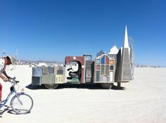 Some of the crazy RVs & Motorhomes from Burning Man 2011
