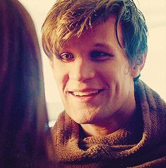 Matt's smile is precious. I love that he has so much love and relief on his face when he sees Clara!