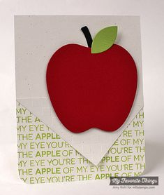 MFT Office Space; Red Delicious Die-namics; Small Checkerboard Stencil. -Amy Rohl #mftstamps