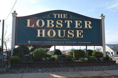 The Lobster House in Cape May NJ...on the deck and the raw bar...yum!