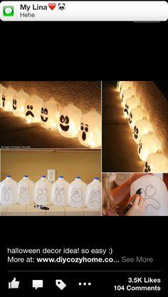 Cool idea for Halloween