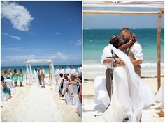 A Turquoise Dream: Chic Destination Wedding In Mexico - Bridal Musings Wedding Blog