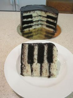 ideas music party cake piano keys for 2019 Piano Cakes, Music Cakes, Music Themed Cakes, Inside Cake, Cake Recipes, Dessert Recipes, Food Themes, Creative Cakes, Let Them Eat Cake