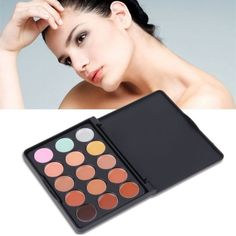 """Concealer/contour palette New. 15 color concealer/contour palette. Package dimensions: 6""""x 4"""" Thank you for visiting my closet, please feel free to ask questions. I offer great discounts on bundles  Makeup Concealer"""
