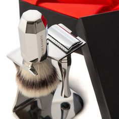 British Made Luxury Shaving Accessories for Men - ELMENS Shaving Set, Shaving Brush, Wet Shaving, Luxury Gifts, Leather Accessories, Art Deco Fashion, Leather Craft, Birthday Gifts, British