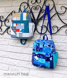 The Matsuri Bag - Convertible Backpack Sewing Pattern Download