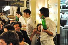 Restaurant Le Chateaubriand, Paris Gourmand, Paris #humeursdeParis ©Josée Noiseux Emotion, Restaurant, Diner Restaurant, Restaurants, Dining