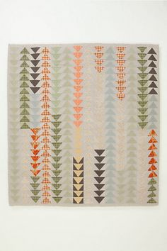 The Semiologie by A.P.C. quilt for Anthropologie