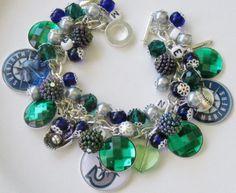 Seattle Mariners Baseball Charm Bracelet for sale on ebay