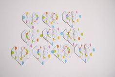 Etsy の Origami Paper Hearts 10 Hearts by KaoriCraft