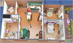 "pinkcotton: "" Hannah's apartment 2 Bedroom 1 Bathroom Located at 19 Culpepper in the Spice District You will need to use the BB.MOVEOBJECTS ON command before placing. This is CC FREE and I own all packs. EA ID: PIXELB0MB Or download the tray files..."