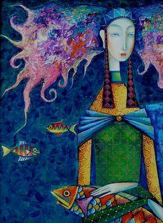 .Zayasaikhan Sambuu, Mongolian painter