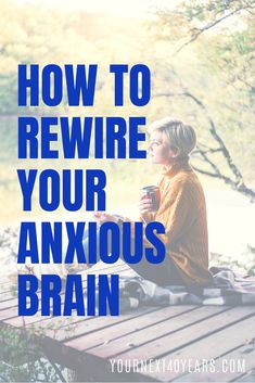 Learning to rewire your anxious brain can bring more confidence to your next 40 years. Living with anxiety can make you feel small but, you don't have to! Types Of Meditation, Guided Meditation, Panic Disorder, Anxiety Disorder, I Am Statements, Clear Your Mind, I Am Strong, Confidence Building, Calm Down