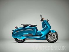 Concept J Series : la Duke 690 dans un scooter Retro Scooter, Scooter Wheels, Lambretta Scooter, Scooter Motorcycle, Kick Scooter, Ktm Duke, Moto Ktm, Bike Sketch, Cafe Racer Magazine