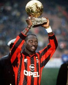 Candidate for Presidency; George Weah (Liberia). only African player to win the Balon d'Or