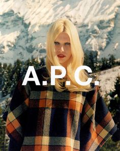 Fashion Advertising, Advertising Campaign, Better Than Yours, Fashion Beauty, Womens Fashion, Graphic Design Branding, Fashion Images, Apc, Brand Identity