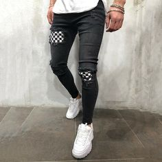 Best Fitting / Top Quality T-shirts, Shirts, Jeans and more at Great P Biker Jeans, Jeans Pants, Grunge Jeans, Outfit Grid, Destroyed Jeans, Ripped Denim, Vintage Denim, Sweater Outfits, Jeans Style