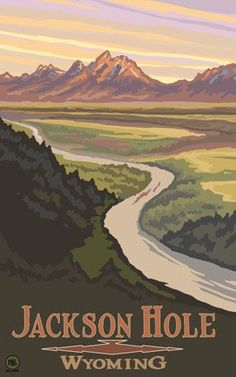 Snake River Overlook, Grand Teton National Park, by Paul A Lanquist Wyoming, Parc National, Grand Teton National Park, Nevada, Pin Ups Vintage, Utah, Places To Travel, Places To Go, Voyage Usa