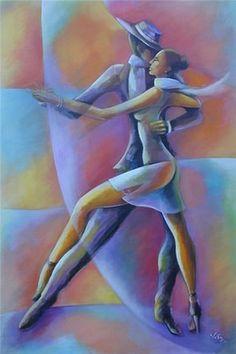 Takes two to tango African American Art, African Art, Tango Art, Tango Dancers, Caribbean Art, Inspiration Art, Arte Pop, Black Art, Love Art