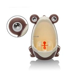 Urinoir d'apprentissage grenouille