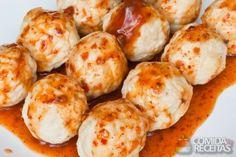 Receita de Almôndega de frango - Comida e Receitas - microondas