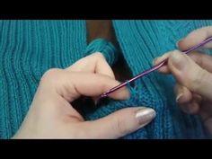 Соединяем детали вязаных изделий крючком. МК Светланы Заец // Knitting for Beginners - YouTube