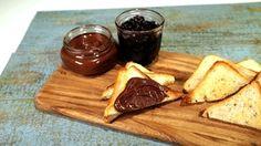 Cherry Jam + Chocolate Peanut Butter Recipe | The Chew - ABC.com