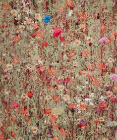 What a beautiful dress this would make. Oh how I covet this - Mawston Meadow B Tana Lawn, Liberty Art Fabrics