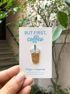 Get your daily pick me up with this iced coffee pin. x size Hard enamel pin in gold metal post with a gold locking back Includes backing card and cello sleeve Biscuit, Jacket Pins, Cool Pins, Pin And Patches, Hard Enamel Pin, Metal Pins, Disney Pins, Pin Badges, Lapel Pins