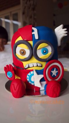 Minion Captain America & Iron Man  Civil War