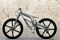 Bicicleta eléctrica con conexión a Internet de Audi