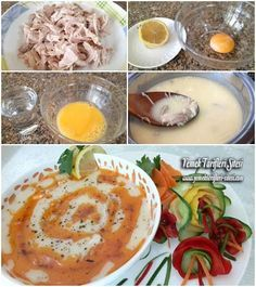 Terbiyeli Tavuk Çorbası Tarifi Turkish Recipes, Ethnic Recipes, Chicken Soup Recipes, Recipe Chicken, Food Articles, Iftar, Homemade Beauty Products, Chicken Seasoning, Hummus