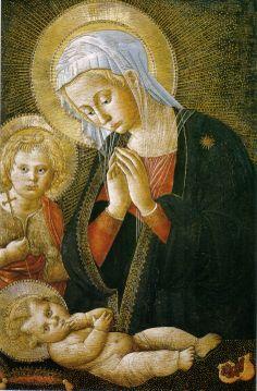 .:. Pseudo Pier Francesco Fiorentino Madonna and Child 1460-80 Uffizi