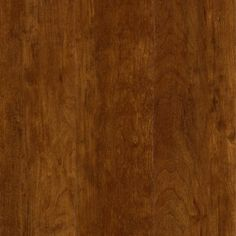 Nucore Cherry High-Gloss Plank with Cork Back - 6.5mm - 100378884 | Floor and Decor