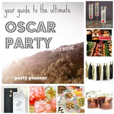 Host a viewing party for the Academy Awards // Oscars. We've done all the work for you...   O s c a r   V i e w i n g   P a r t y { February 22, 2015 }   send this: { one } ...