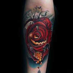 80 Halloween Tattoo Designs For Men