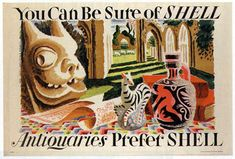 Shell Posters Clifford & Rosemary Ellis 1933