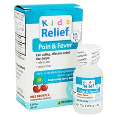 Homeolab Kids Relief - Pain & Fever - Ages 2+