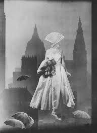 Visit in Night, by Toshiko Okanoue A collage work by Toshiko Okanoue, a Japanese artist who independently developed her style by pasting images from fashion magazines in surreal arrangements British Journal Of Photography, Photography Collage, Surrealism Photography, Japanese Photography, Abstract Photography, Photography Tips, Street Photography, Landscape Photography, Portrait Photography
