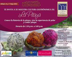 Muestra Cultural Gastronómica de la Pitaya / #Sayula #Jalisco / 10 y 17 de Mayo 2014