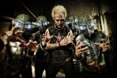 Powerman 5000>>so excited that my cousin's band is opening for them in CT in August